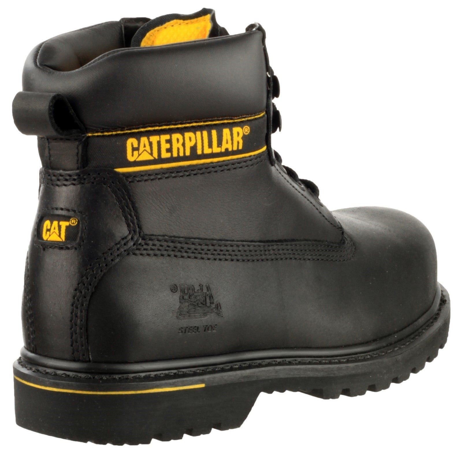 Caterpillar Men's Holton Safety Boot Black 16105
