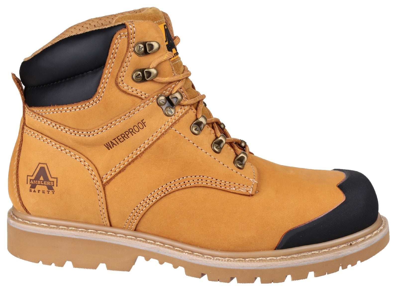 FS226 Goodyear Welted Waterproof Lace up Industrial Safety Boot