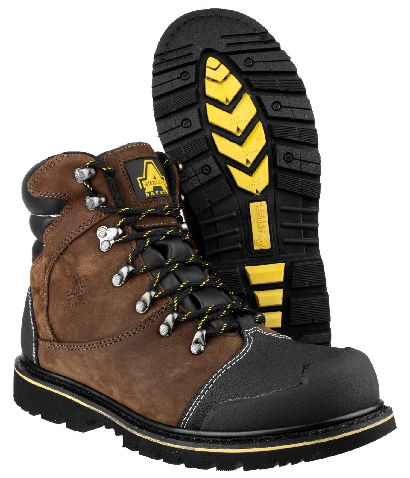 FS227 Goodyear Welted Waterproof Lace Up Industrial Safety Boot