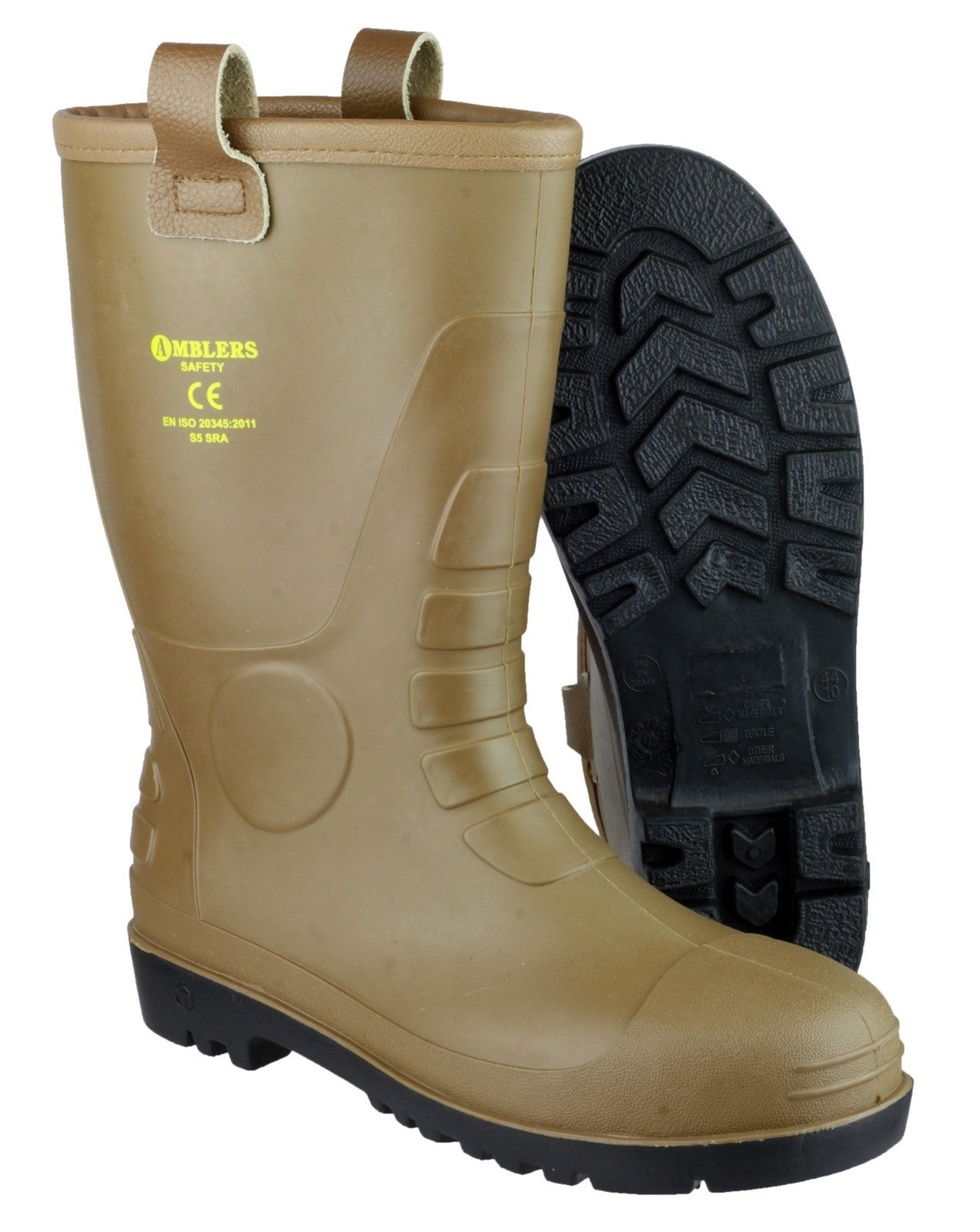 FS95 Waterproof PVC Pull on Safety Rigger Boot