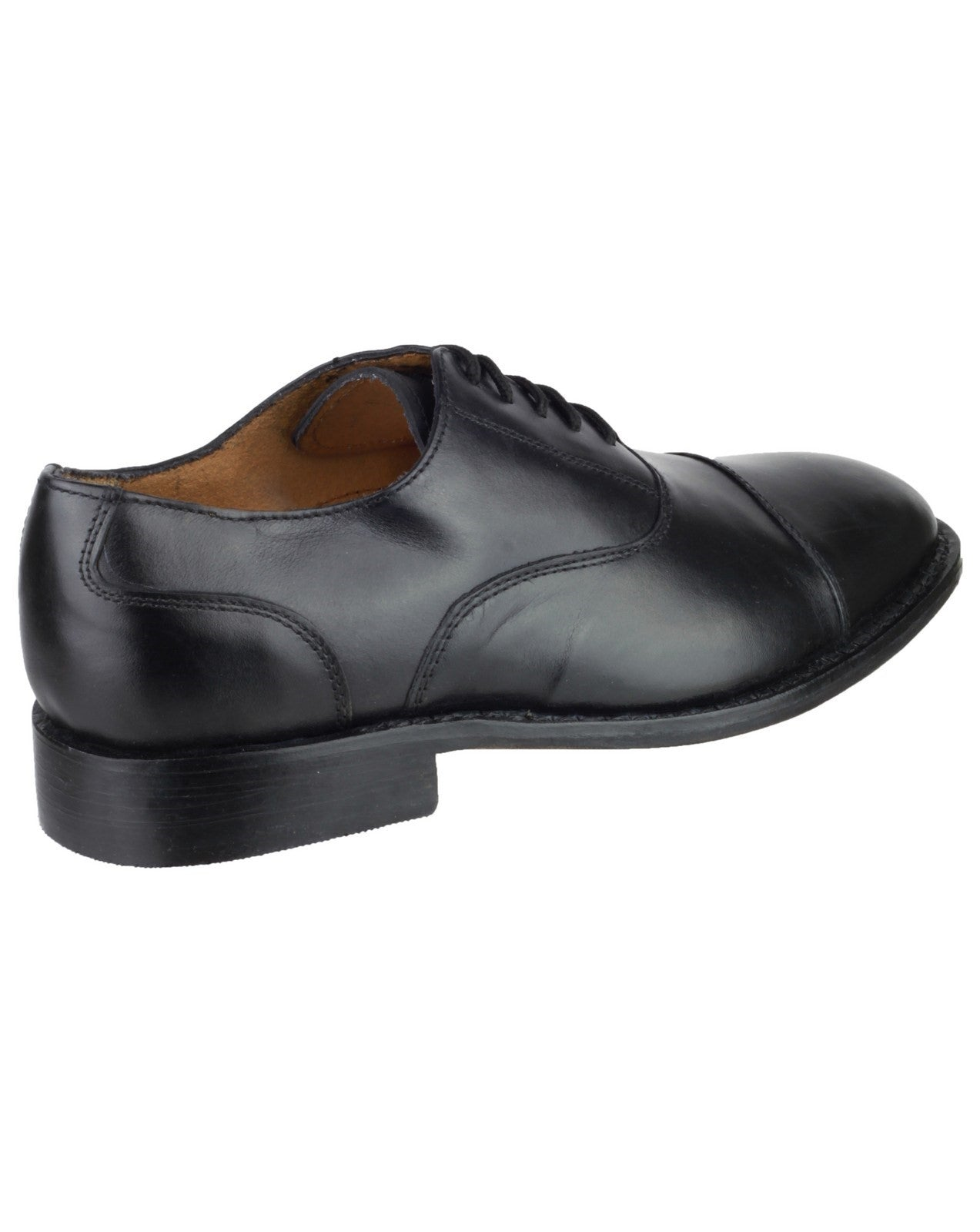 Amblers Men's James Leather Soled Oxford Shoe Black 10874