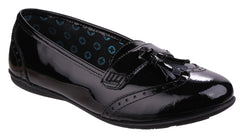 Hush Puppies Men's Esme Senior Girls Back to School Shoe Black 25335