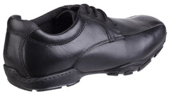 Hush Puppies Men's Vincente Senior School Shoe Black 25352