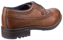 Cotswold Men's Poplar Brogue Dress Shoe Various Colours 25529