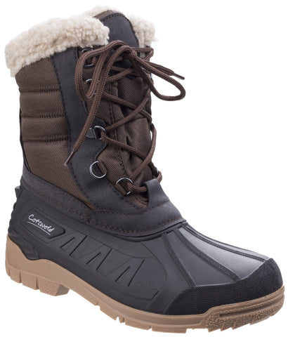 Cotswold Women's Coset Weather Boot Brown 25538