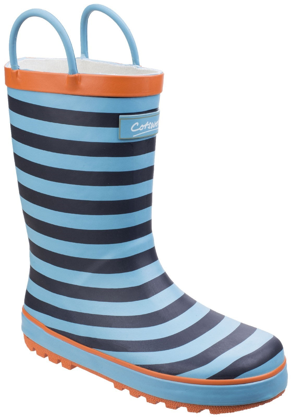Cotswold Kids Captain Stripy Wellies Boot Blue 25545