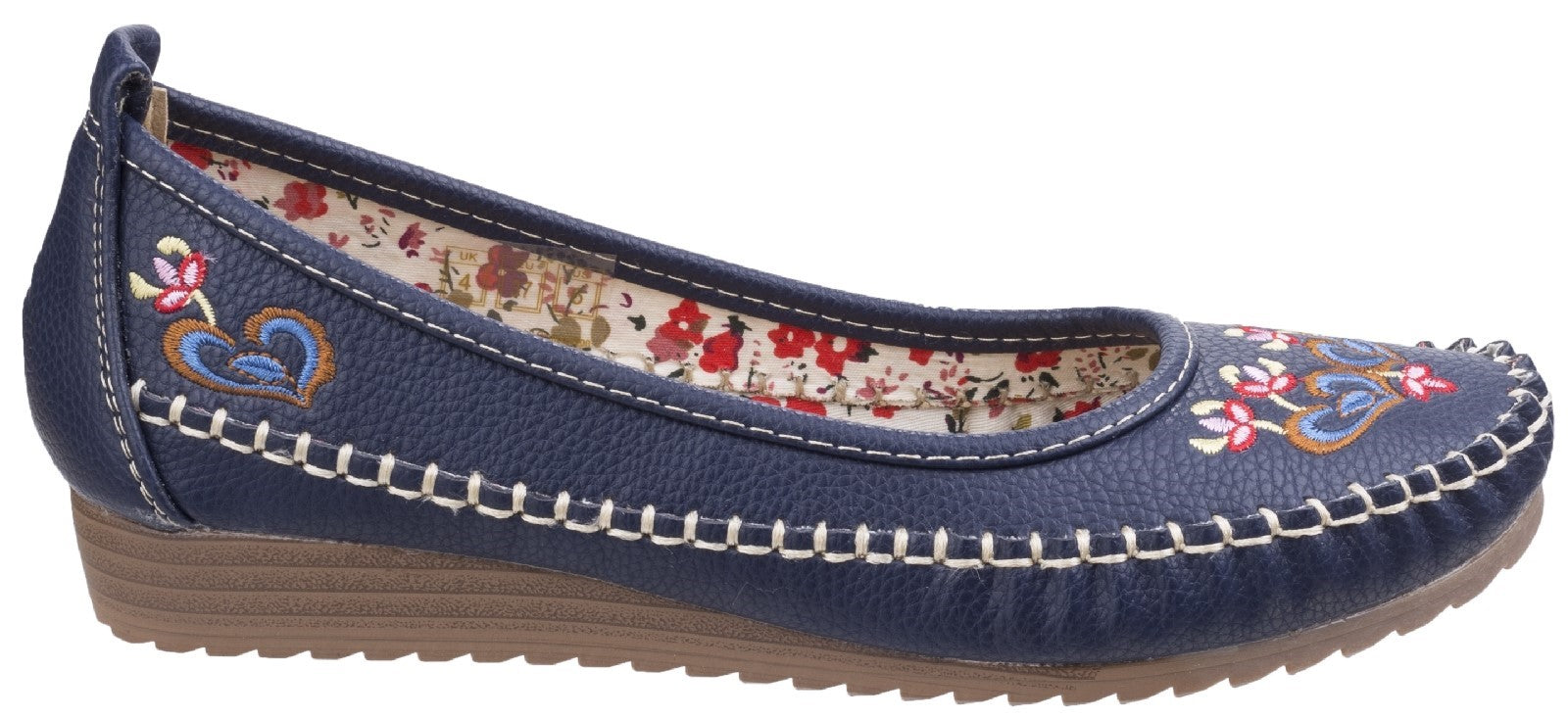 Fleet & Foster Women's Algarve Moccasin Red 26303-43892