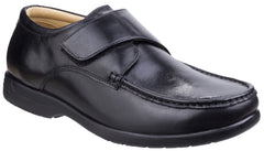 Fleet & Foster Men's Fred Dual Fit Moccasin Black 26320-43938
