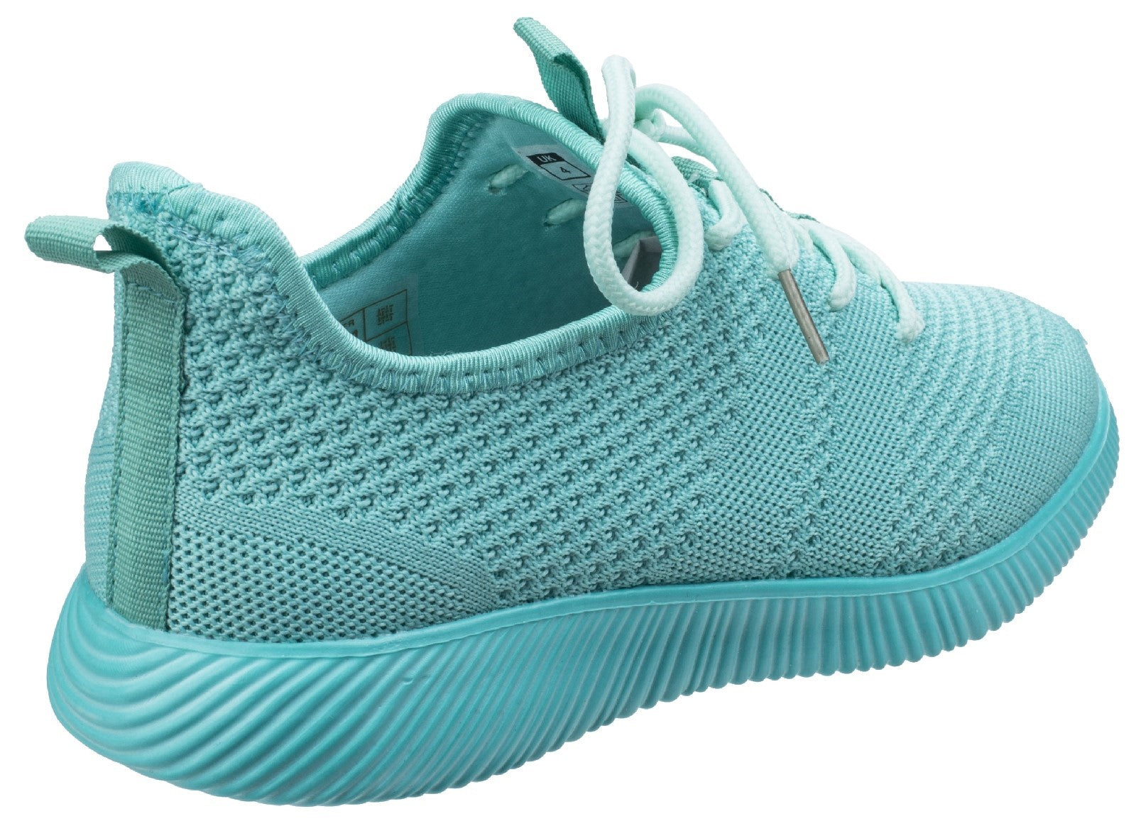 Divaz Women's Heidi Knit Trainer Grey 26327-43957