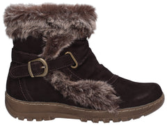 Fleet & Foster Women's Ginny Ankle Boot Brown 27143-45598