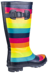 Rainbow Wellington Boot