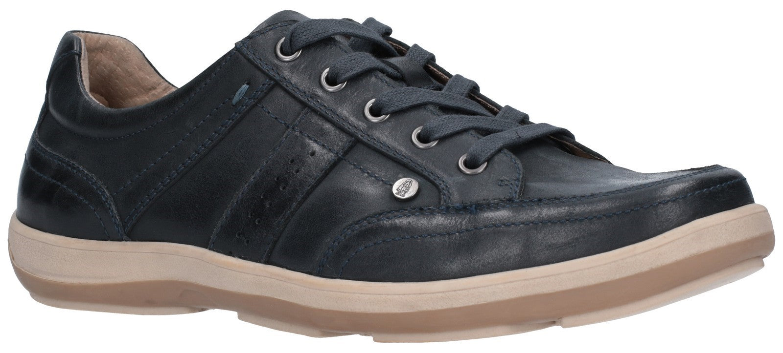 Hush Puppies Men's Vizla Lace Trainer Navy 27368