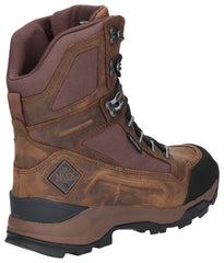 "Muck Boot Men's Summit 8"" Warm Weather Performance Boot Brown 27623"