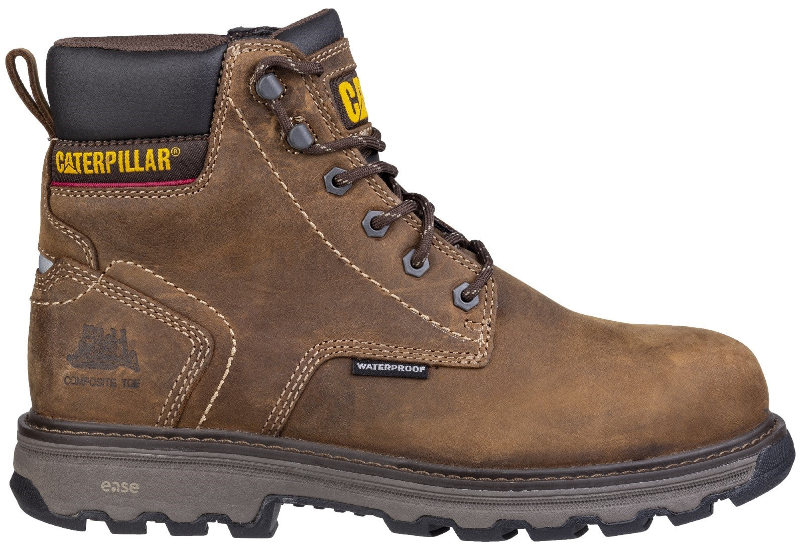 Caterpillar Men's Precision Lace Up Boot Dark Brown 28173