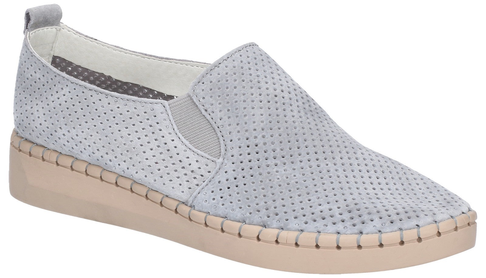 Fleet & Foster Women's Tulip Slip On Shoe Blue 28262-47470