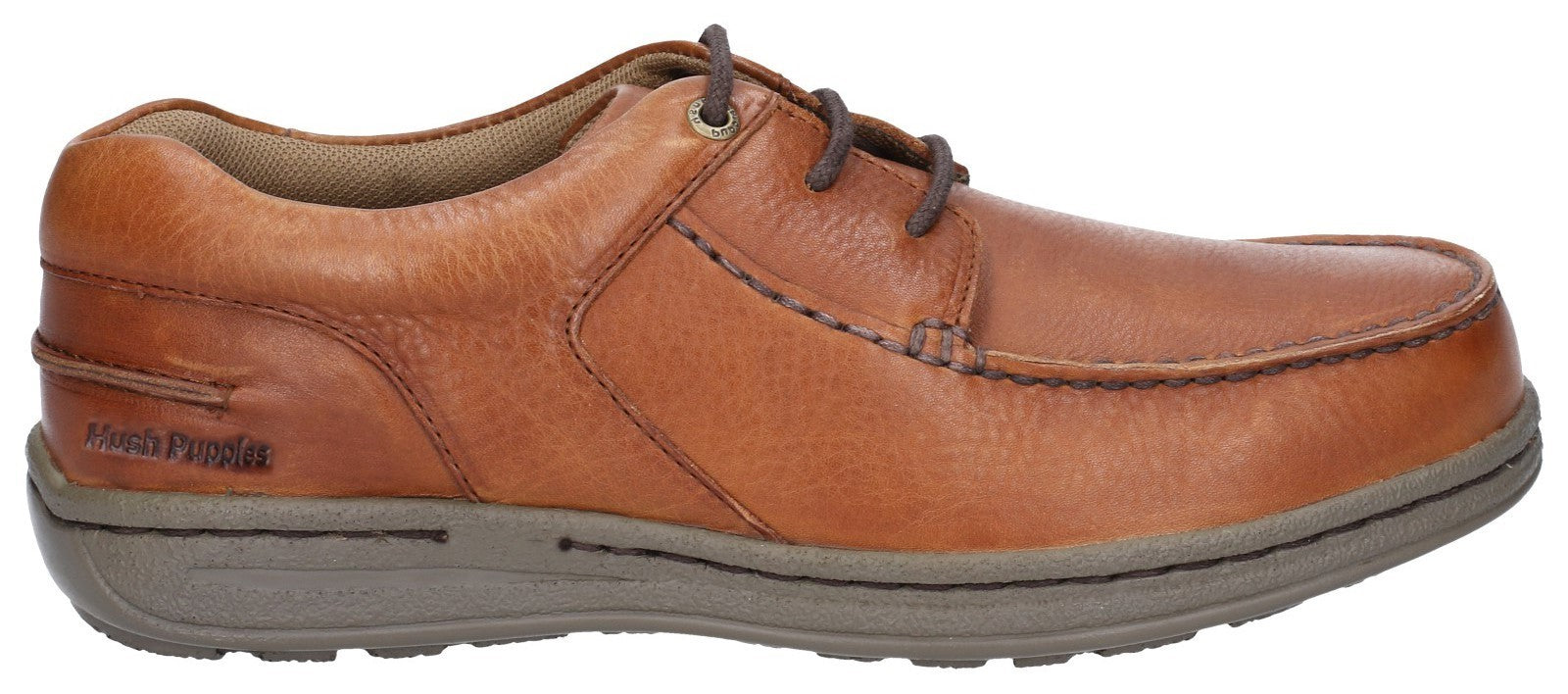 Hush Puppies Men's Winston Victory Causal Lace Up Shoe Tan 28381
