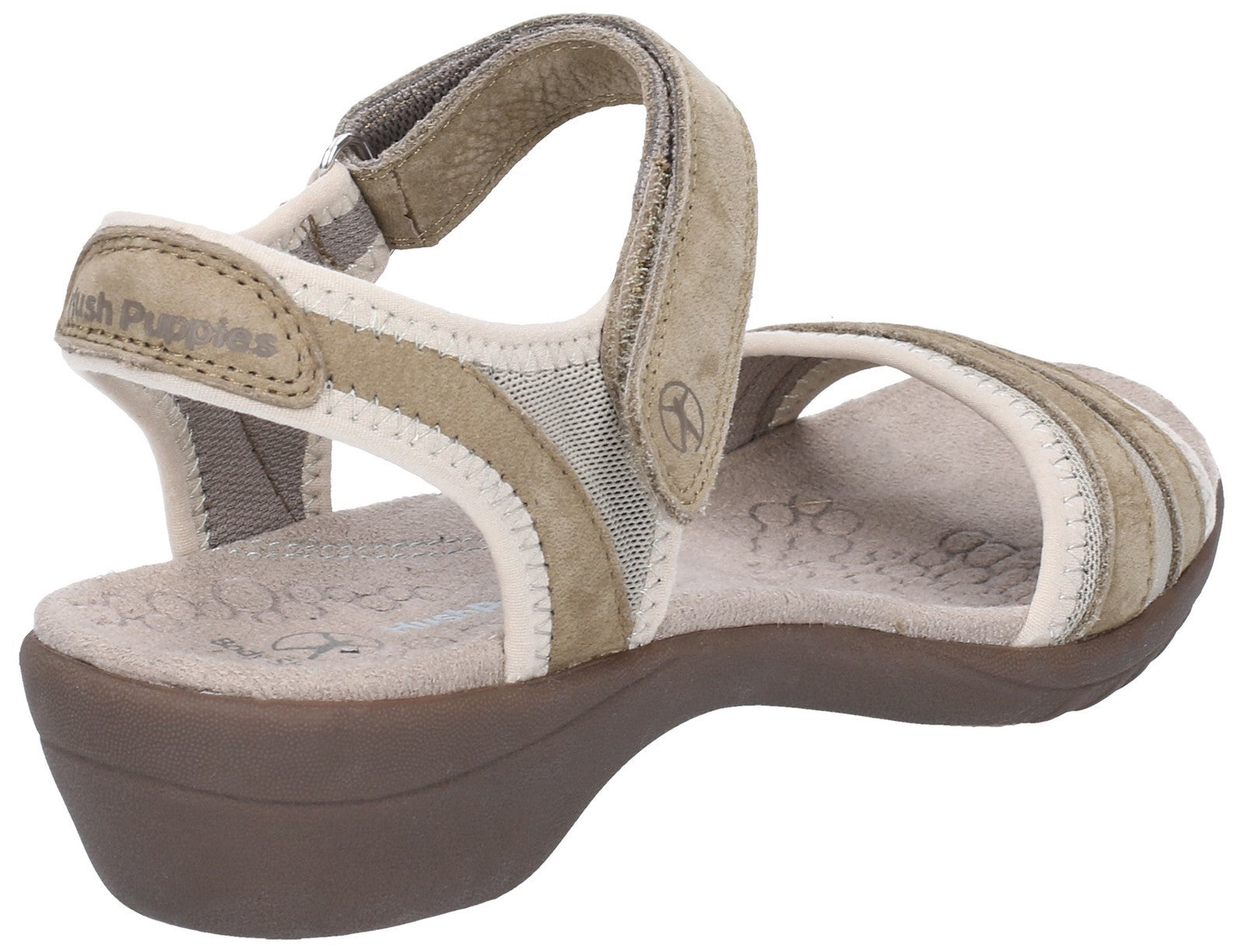Hush Puppies Women's Athos Touch Fasten Sandal Various Colours 28386