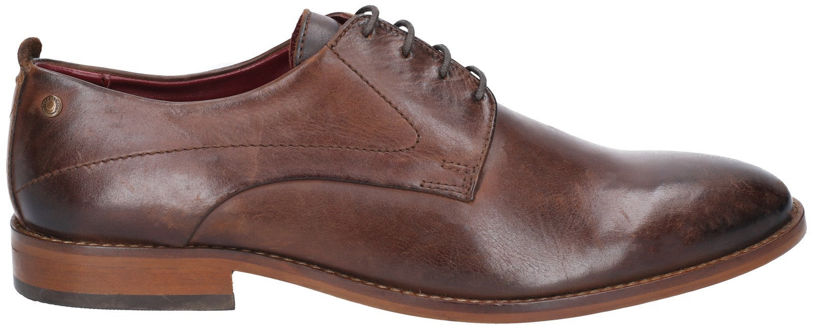 Base London Men's Script Washed Lace Up Shoe Various Colours