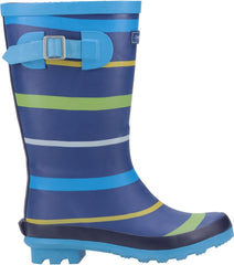 Cotswold Women's Stripe Wellington Boot Multicolor 28742