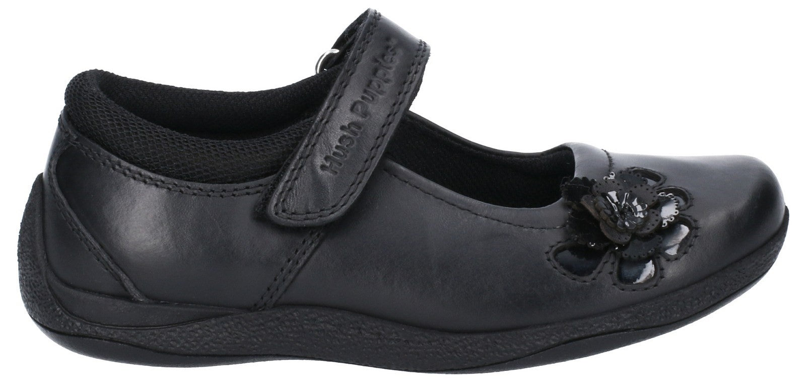 Hush Puppies Women's Jessica Jnr Touch School Shoe Various Colours 28981