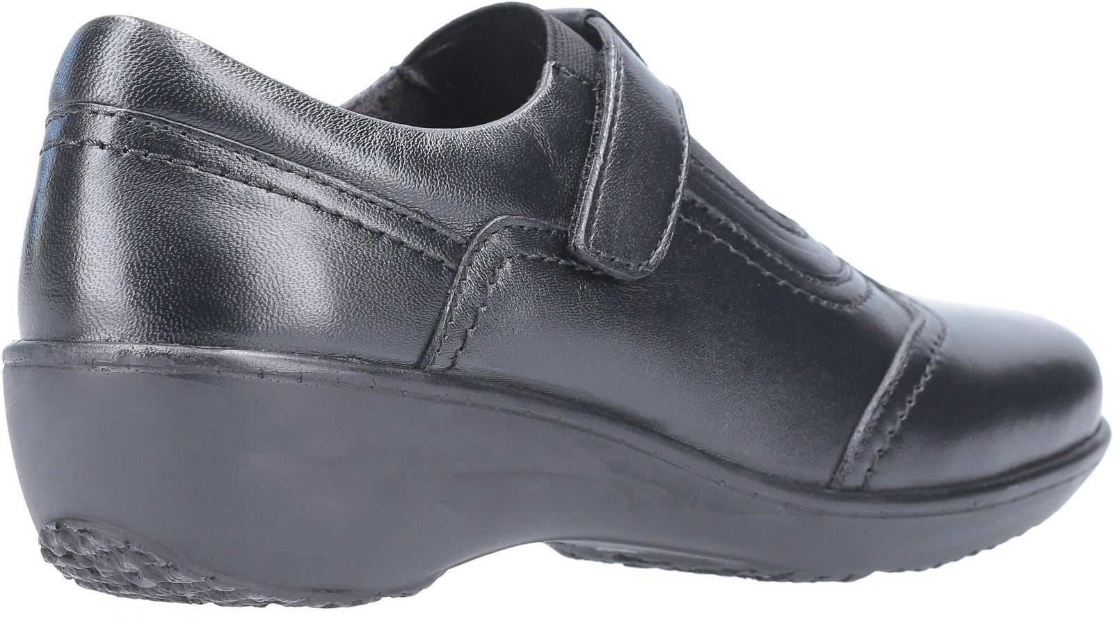 Fleet & Foster Women's Ethel Touch Fasten Shoe Black 29297-49587