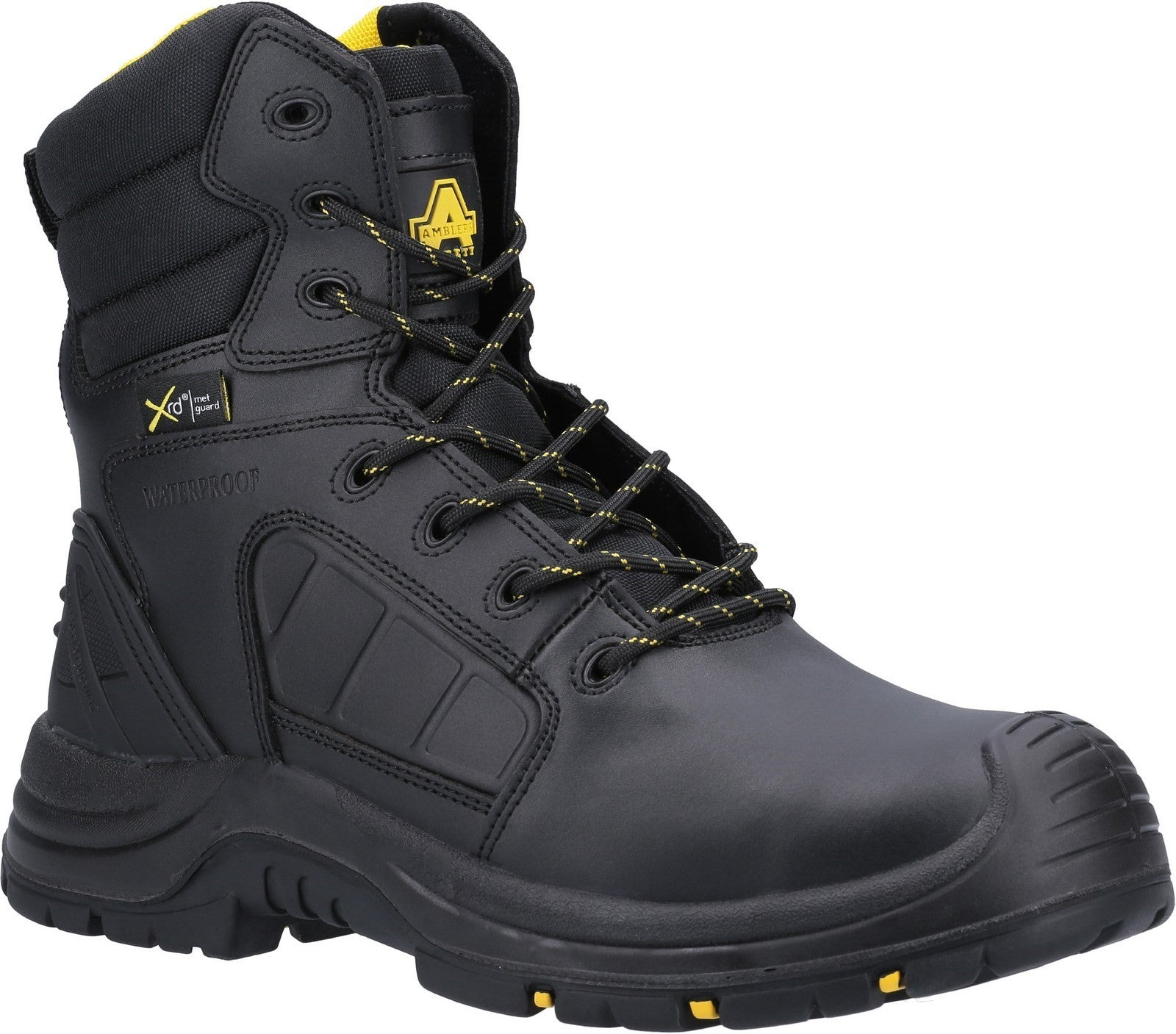 AS350C Berwyn Hi-Leg Waterproof Metal Free Metatarsal Safety Boot