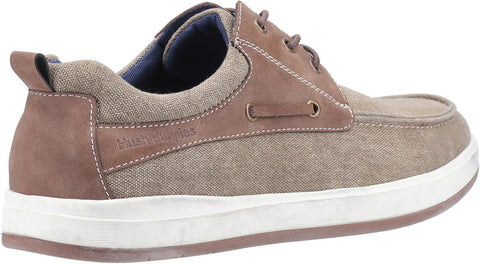 Hush Puppies Men's Aiden Lace Up Boat Shoe Various Colours 30181