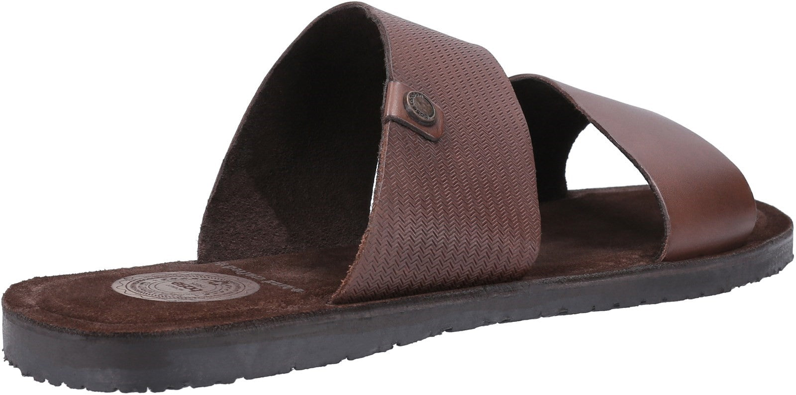 Base London Men's Julius Waxy Slip On Sandal Various Colours 30442