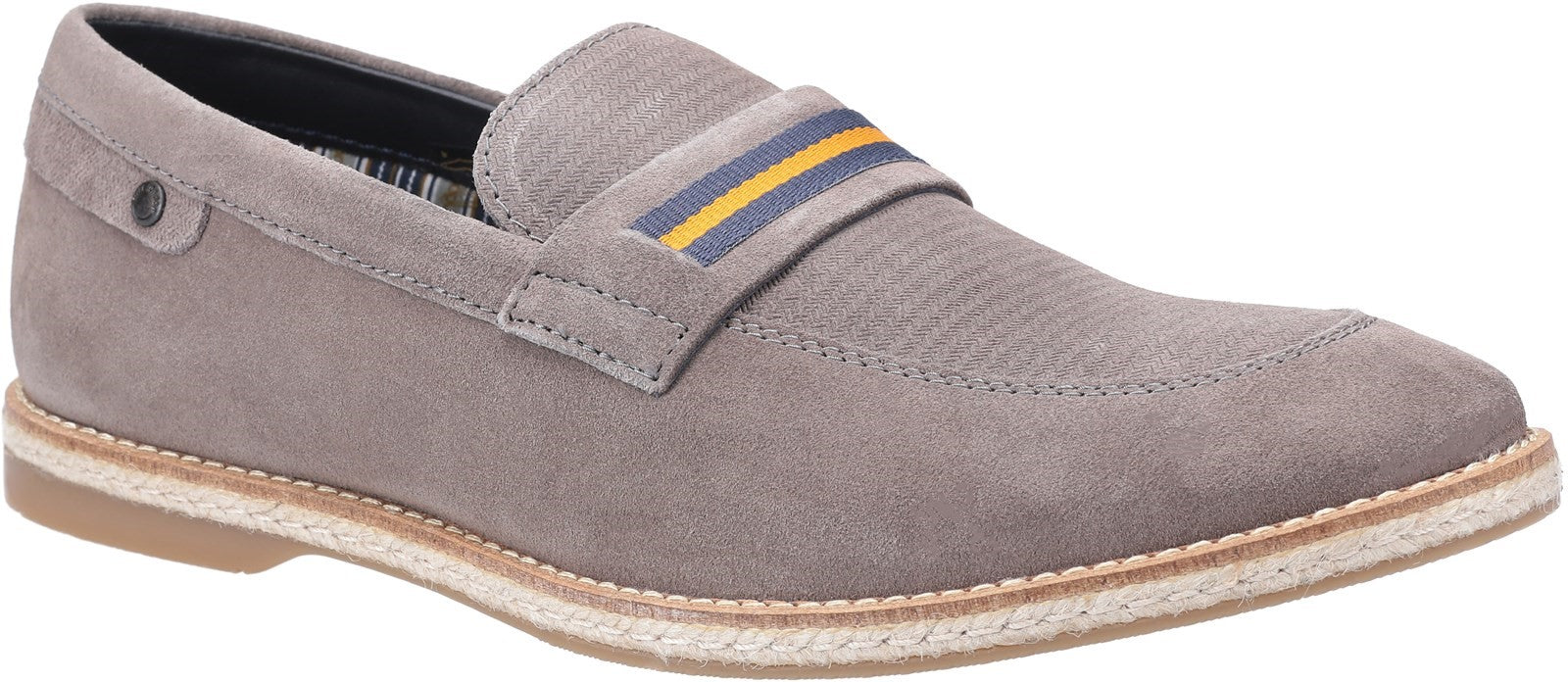 Base London Men's Kinsey Suede Slip On Loafer Various Colours
