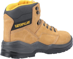 Caterpillar Men's Striver Lace Up Injected Safety Boot Honey 30703