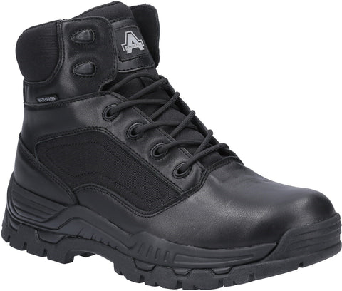 Amblers Unisex Mission Waterproof Occupational Boot Black 31343