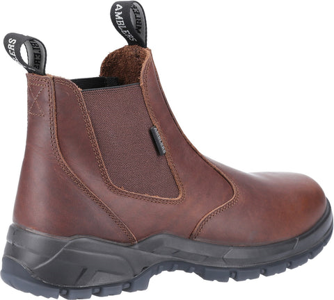Amblers Unisex Ardwell Occupational Dealer Boot Brown 31379