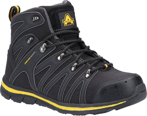 Amblers Safety Unisex Boot Black 31390