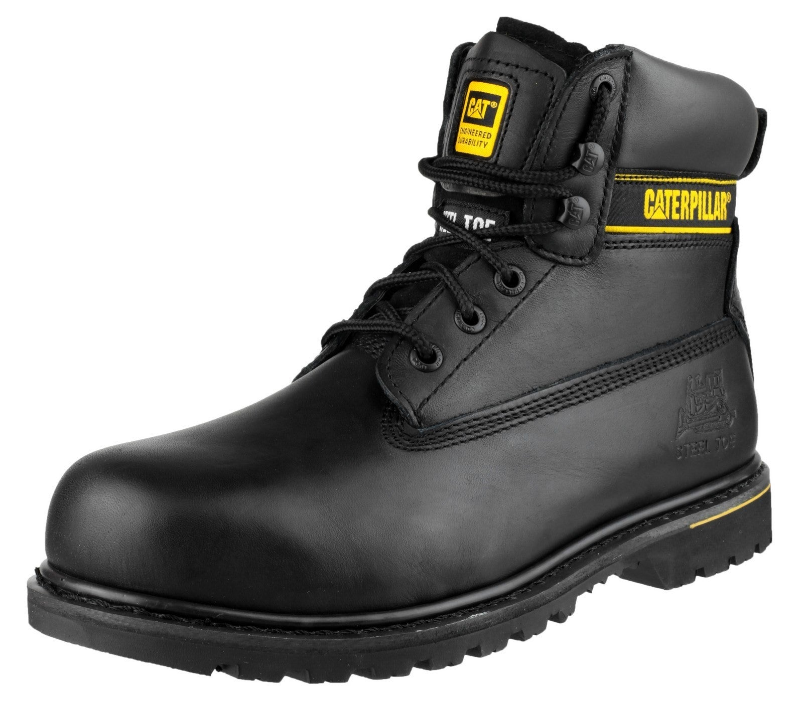 Caterpillar Men's Holton Safety Boot Black 12806