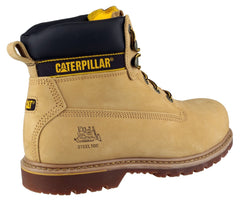 Caterpillar Men's Holton Lace Up Boot Honey 12808