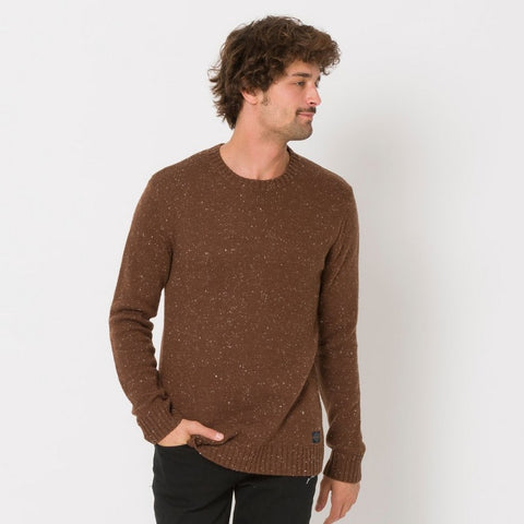 Animal Clothing Men's Knitted Jumper Smedmore Brown
