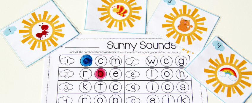 Freebie Friday – Sunny Sounds