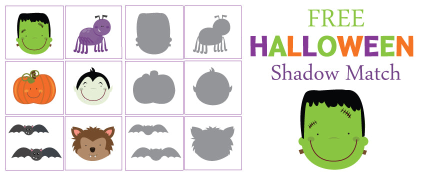 have one last halloween free printable today we have a shadow matching game for your little ones to enjoy cut out each card then have the children