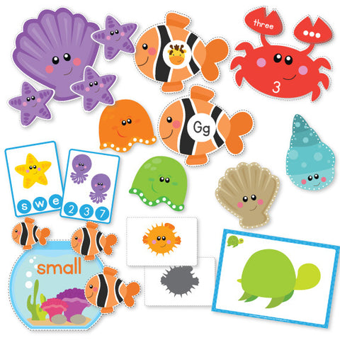 Ocean Friends Preschool Pack