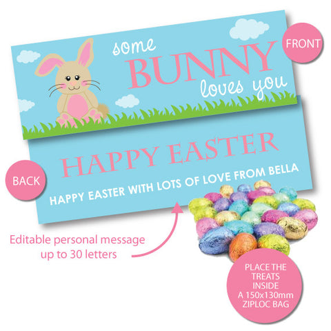 Bunny Love - Easter Bag Toppers
