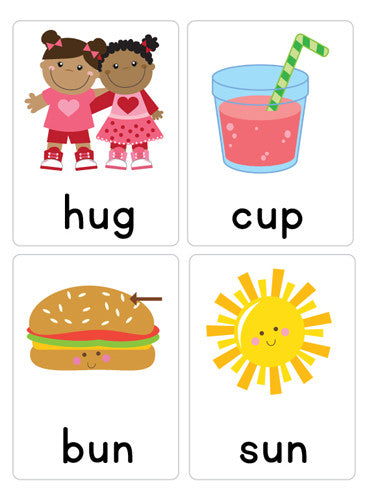CVC Word Flash Cards