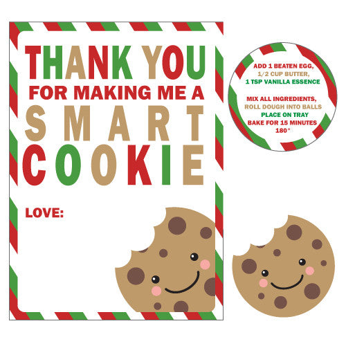 Smart Cookie Teacher Thank You Gift