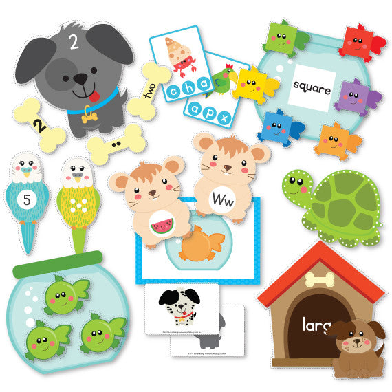 Pet Friends Preschool Pack