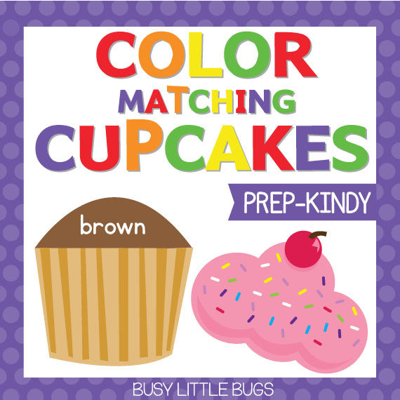 Cupcake Colour Match