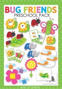Bug Friends Preschool Pack