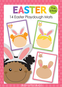 Easter Playdough Mats