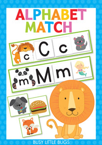 Alphabet Match UPDATED!