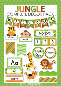 Jungle Complete Decor Pack