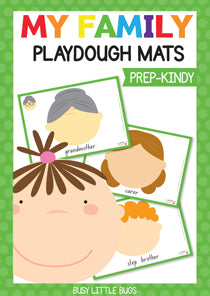 Family Playdough Mats
