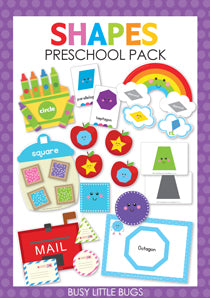 Shapes Preschool Pack